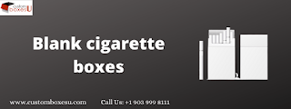 Photo of Blank cigarette boxes Wholesale for Packaging inUSA