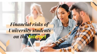 Photo of Suggestions for financial risks of University students on the Internet