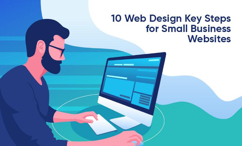 Web Design Key Steps for Small Business Websites