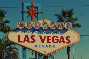 """""""Welcome to Las Vegas"""" sign."""