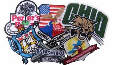 Photo of Chenille Patches the brand logo design is beneficial for your company