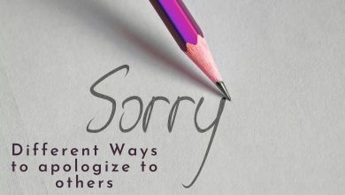 Photo of Different Ways to Apologize to Others