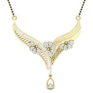 18k Yellow Gold The Vaidehi Mangalsutra