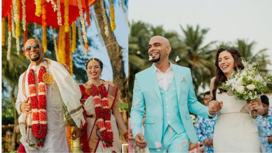 Roadies-fame-Raghu-Ram-Beach Wedding-in-Goa