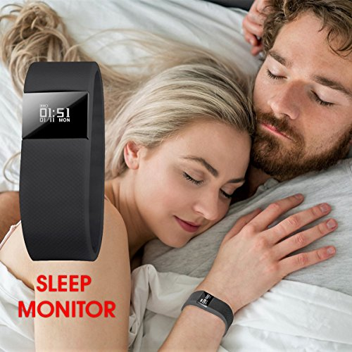 SCONTO-su-NAKOSITE-FT2433-Miglior-Orologio-Fitness-Activity-Tracker-Pedometro-Conta-Passi-Conta-Calorie-Distanza-Monitor-Sonno-Orologio- Sport-Bluetooth-40- ... 0b0f72dda63
