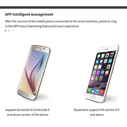 Yuntab-Y2-plus-Bluetooth-40-orologio-intelligente-Heart-Rate-monitor ... c114673bd33