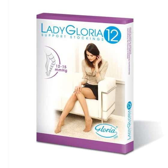 Calza per reggicalza Lady Gloria 12 mmHg