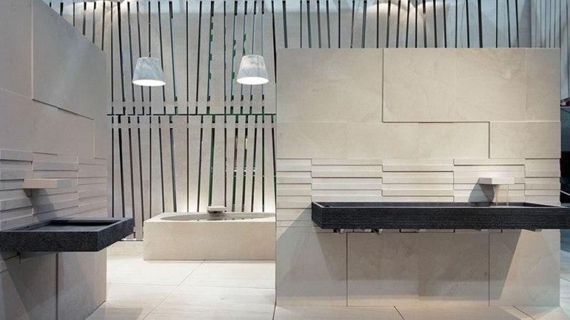 Marmo per bagni: interior design di arredi e sanitari dall'eleganza eterna