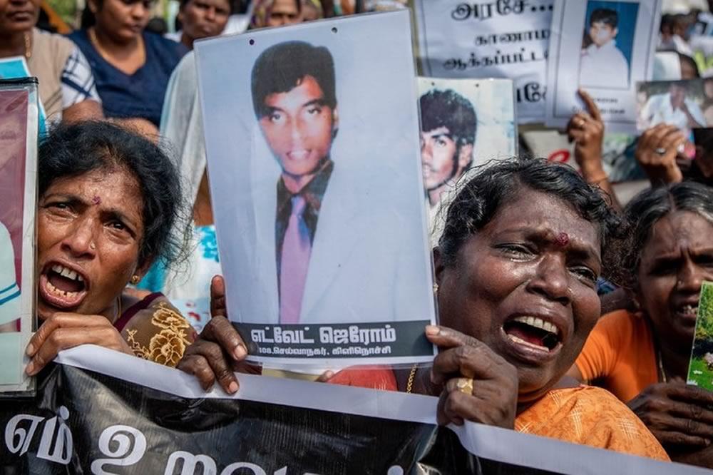Le violazioni dei diritti umani in Sri Lanka