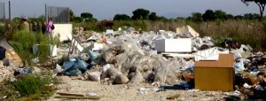 Campo rom La Barbuta - Le foto del sopralluogo 4