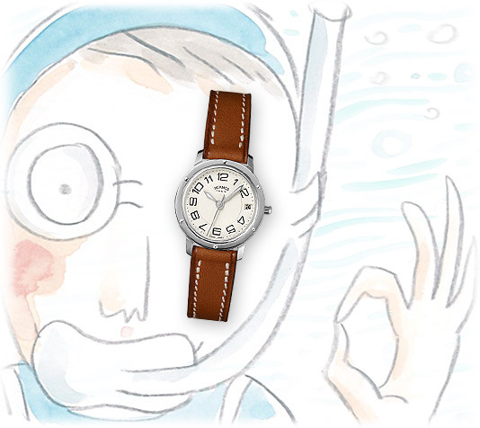 Reloj Hermès Clipper