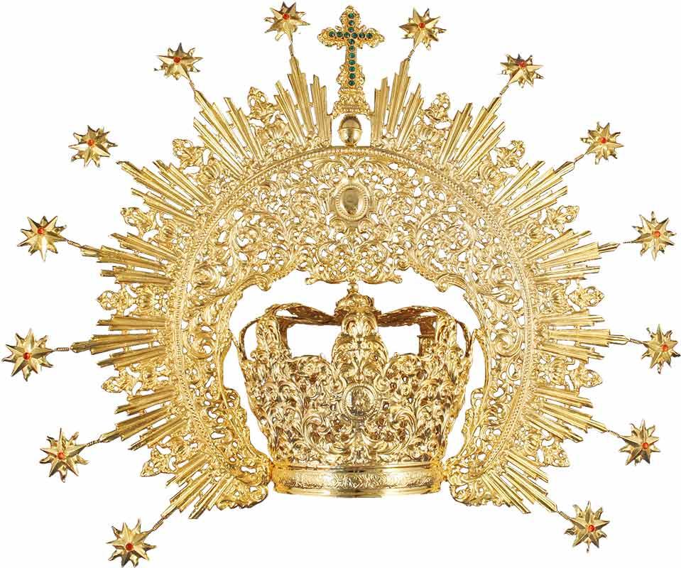 Comprar corona para Virgen Mara  Venta online