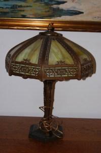 I Have A Vintage Slag Glass Desk Lamp With The Mark CCco ...