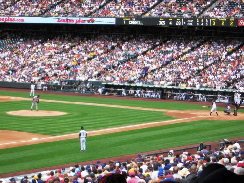 Cubbies vs Rockies :: Coors Field, Denver