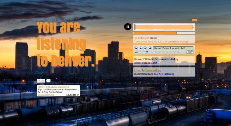 You Are Listenig To Denver