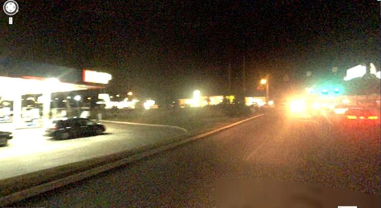Google Street View At Night