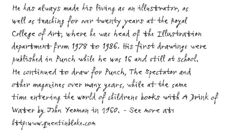 Quentin Blake Typeface