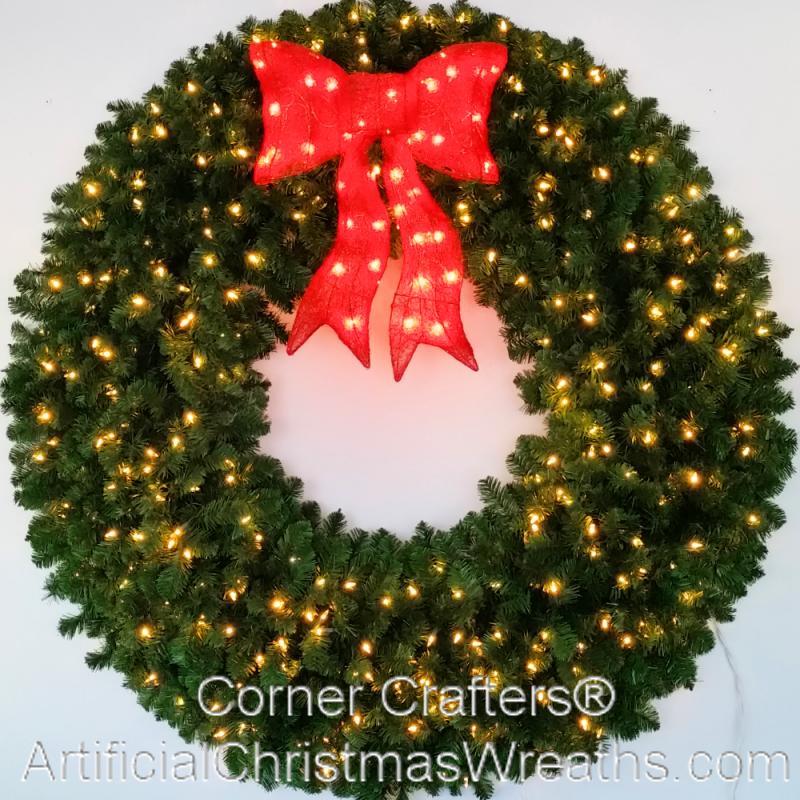 5 FOOT LED CHRISTMAS WREATH