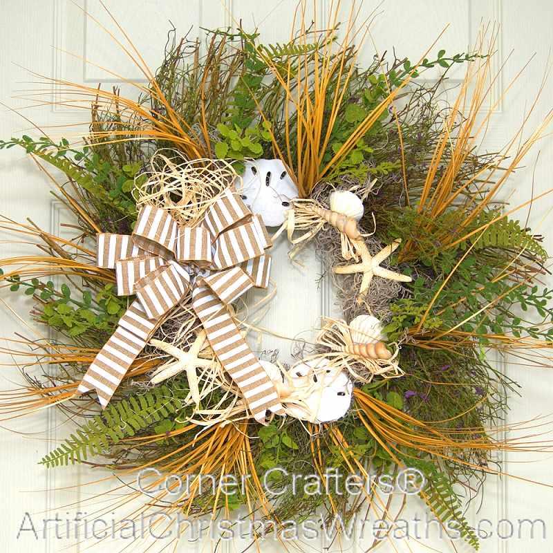 summer beach wreath l