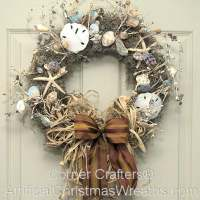 SEA SHELL WREATH | ArtificialChristmasWreaths.com ...