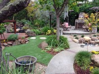 Artificial Grass Carpet Jamaica Beach, Texas Landscaping