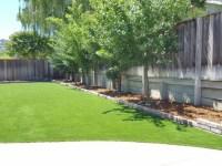 Installing Artificial Grass Nolic, Arizona Backyard Deck ...