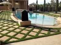 Artificial Grass Installation Globe, Arizona Paver Patio ...