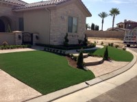 Grass Turf Sun Lakes, Arizona Backyard Playground, Front ...