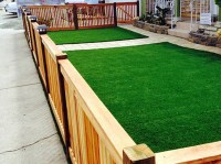 Artificial Turf Payson, Utah Paver Patio, Small Front Yard ...