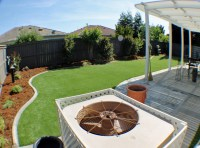 Fake Turf Lakeview, Ohio Backyard Deck Ideas, Backyard ...