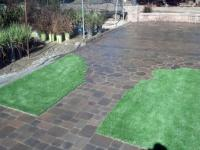 Best Artificial Grass Wheatfield, Indiana Rooftop, Front