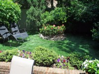 Faux Grass Kirkpatrick, Oregon Landscape Design, Backyard ...