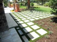 Synthetic Grass Gopher Flats, Oregon Paver Patio, Backyard ...