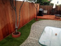 Plastic Grass West Menlo Park, California Lawn And
