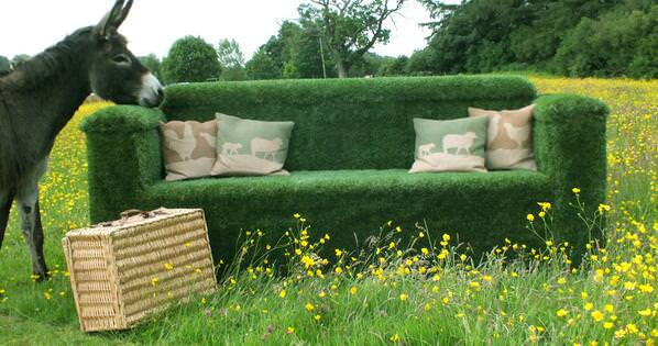 comfortable contemporary sofa banquette bed you can make all sorts from artificial grass!