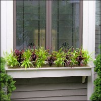 Filling Window Boxes with Artificial Outdoor Plants ...