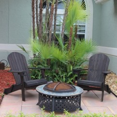 Mini Adirondack Chairs Bucket Racing Chair Create A Seating Area With And Fire Pit