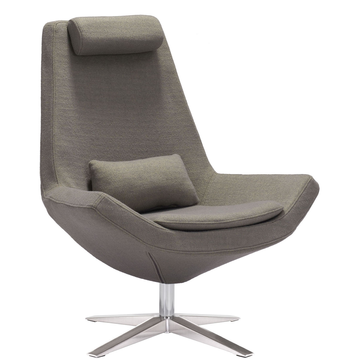 zuo swivel chair urban dictionary modern olive green bruges occasional
