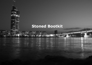 Stoned Bootkit
