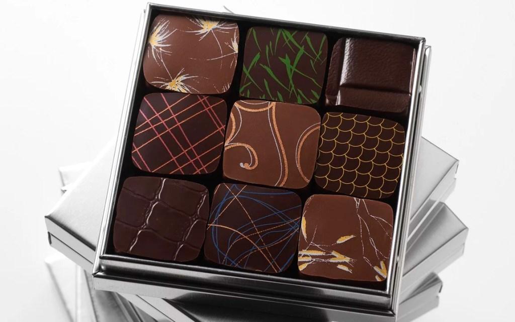 Artify - Chocolats dégustés lors de l'expérience exclusif de l'Arty Foodies - Art & Chocolat