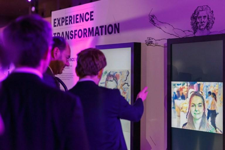 Artify - Soirée expérience innovante - Photobooth - Intelligence artificielle transformant un portrait en oeuvre d'art