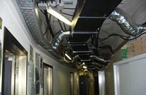 Impianti di condizionamento - controsoffitto