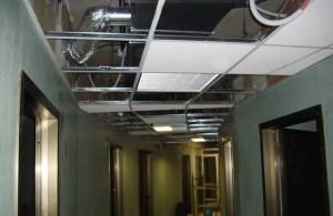 Manutenzione impianti di condizionamento - montaggio canali di aerazione