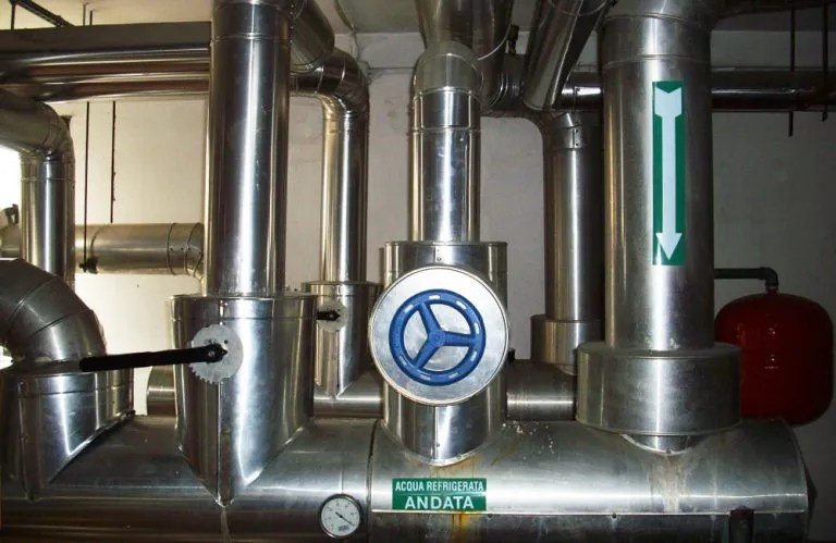 Manutenzione impianti idraulici e gruppo frigo
