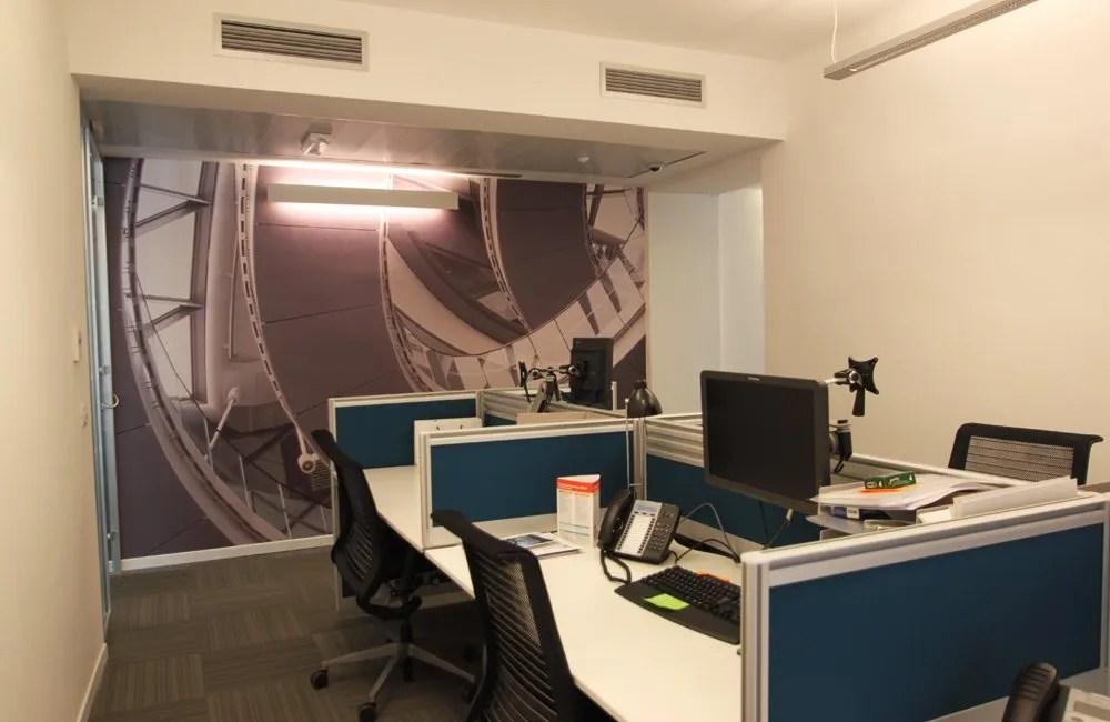 Ristrutturazione Uffici Roma Towers Watson - postazioni computer