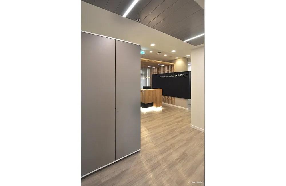 Willis Tower Watson - Ristrutturazione ufficio nuova sede via Bissolati Roma