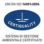 logo certificazione UNI EN ISO 14001-2004