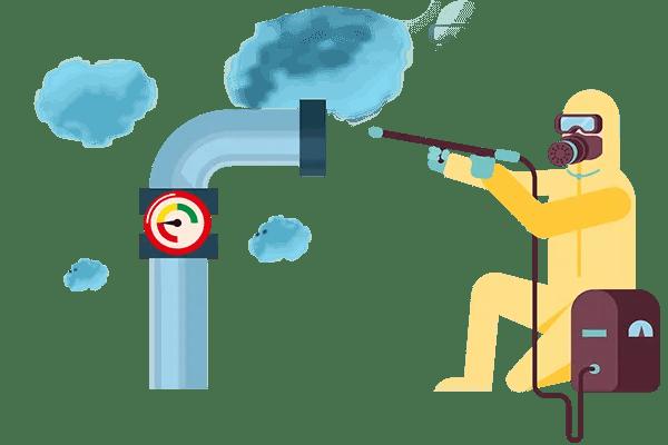 grafica sanificazione impianti aeraulici