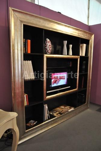 Cornice libreria tv  Artigianarte