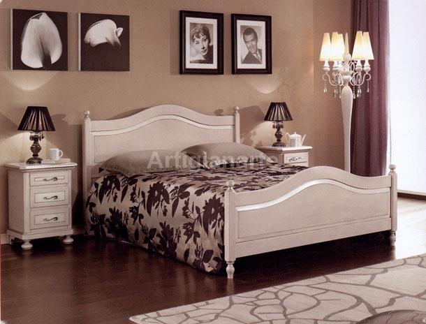 Camere da letto in stile provenzale francese. Letto Toscano Artigianarte